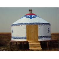Buy cheap Mongolian Tent Yurt Luxury Interior Design , Yurt Style Tent For Outdoor Living from wholesalers