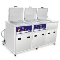Buy cheap Three Tanks Industrial Ultrasonic Cleaning System With Ultrasonic Washing Ringsing Drying from wholesalers