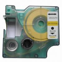 Buy cheap Compatible Label for DYMO D1 Label Tape Ribbon Cartridge 53718/S0720980 from wholesalers