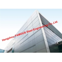Buy cheap 2200 Square Meters Aluminum Veneer Curtain Wall and Awning Exported To Oceania from wholesalers