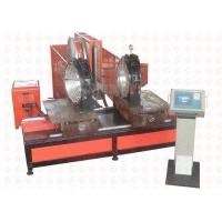Buy cheap Automatic workshop fittings fusion welding machine to make pipe fittings elbow, tee,cross SHG630 from wholesalers