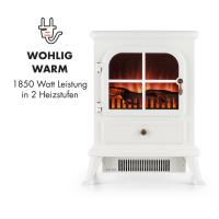 Buy cheap electric  fireplace stove ND-18D1 log burning flame effect fires WHITE cheap China Manufacturer Certificate approval from wholesalers