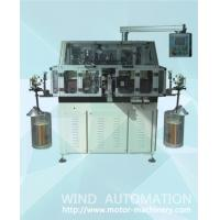 Buy cheap Automatic double flyer armature winder lap winding machine for DC and AC motors 4poles rotor making  WIND-STR c from wholesalers