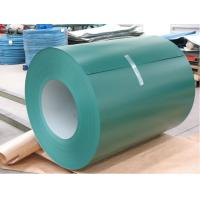 Buy cheap Prime PPGL Pre Painted Steel Galvalume Coils With HDP Coating For Steel Windows from wholesalers
