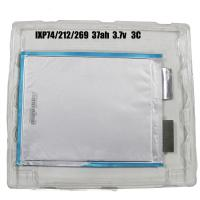 Buy cheap Rechargeable 37ah 3.7v lithium polymer battery prismatic pouch batteries for solar panel from wholesalers