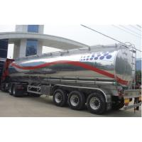 Buy cheap HOT SALE!3 axles 44m3  aluminum alloy oil tank semi trailer for sale, best price CLW brand 3 axles fuel tank trailer from wholesalers