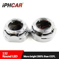 Buy cheap IPHCAR 3 inch Led Light Guide Angel Eye Car Projector Lens Shroud Led Halo Ring Mask from wholesalers