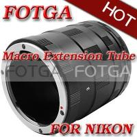 Buy cheap Fotga Macro Extension Tube Set for Nikon D200 D300 D700 D1 D90 D3100 Cameras or DC DV from wholesalers