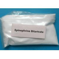 Buy cheap 99*% Raw Steroid White Powder Epinephrine hydrogen tartrate CAS 51-42-3 Epinephrine bitartrate from wholesalers