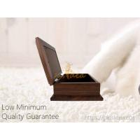 Buy cheap Good Quality Pine Wood Walnut Color Photo Frame Pet Aftercare Tribute Keepsake Urn Chest Box, LOW Minimum Order from wholesalers