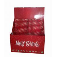 Buy cheap POP cardboard pallet displays for christmas gift promotional pallet display rack from wholesalers