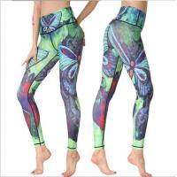 Buy cheap China factory wholesale custom sublimation yoga leggings for ladies from wholesalers