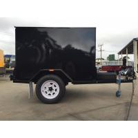 Buy cheap Single Axle 7 X 5 Enclosed Trailer Furniture Vans Trailer For Camper / Moving from wholesalers