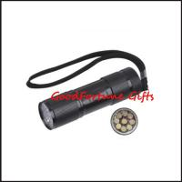 Buy cheap Promotion Gift Led Torch flashlight printed logo from wholesalers