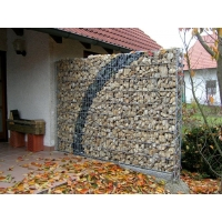 Buy cheap Pvc Coated Fence Gabion Retaining Wall Cages from wholesalers