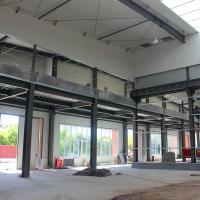 Buy cheap Prefab Light Steel Structure Construction Insulated Metal Building from wholesalers