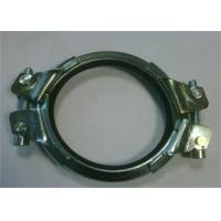 Buy cheap Galvanized Heavy Duty Pipe Welding Clamps Mounting Bracket 0.8mm-2.0mm Thickness from wholesalers