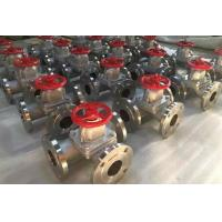 Buy cheap 3 Way Stainless Steel Diaphragm Valve with RF Flanged Connection from wholesalers