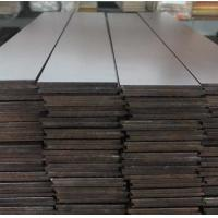 Buy cheap AB grade American walnut solid hardwood flooring, smooth surface from wholesalers