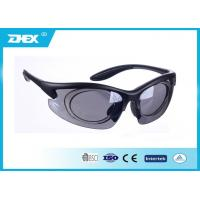 Buy cheap Outdoor Sports Smoke Lens Tactical anti fog safety goggles over glasses from wholesalers