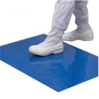 Buy cheap Multi Layer Cleanroom Tacky Mats Sticky Foot Mat Low Density Polyethylene Material from wholesalers