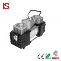 Buy cheap 12 v air compressor car air pump with LED light Air compressor 12v Car inflator BS-8002 from wholesalers