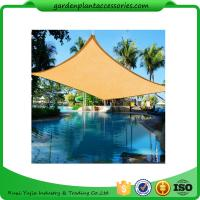Buy cheap Triangle Outdoor Sun Shade Sail / Waterproof Shade Sails 3 X 3m size2 4.5*4.5*4.5m size3 5*5*5m 180g/m from wholesalers