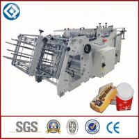Buy cheap Food Container Disposable Carton Making Machine With Glue Sealing product