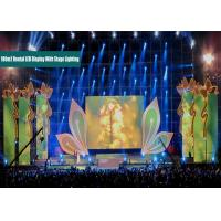 Buy cheap Exhibition P10 Curtain LED Display Rental Flexible LED Curtain Display Energy Saving from wholesalers