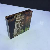 Buy cheap Customized Cube Clear Acrylic Block for Holiday Souvenirs from wholesalers