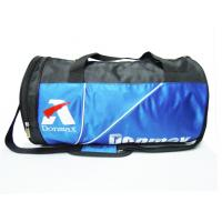 Buy cheap Blue / Black Fashion Nylon Sports Bag With Shoes Pockets And Basketball Bag from wholesalers
