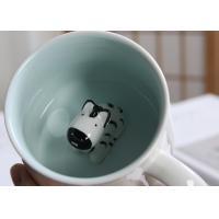 Buy cheap Dolomite Round 3D Bear Personalised Ceramic Mugs product