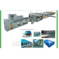 Buy cheap 0.3 - 20mm Plastic Sheet Making Machine , High Speed Sheet Extrusion Equipment from wholesalers