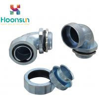 Buy cheap DWJ - B 90 Degree Elbow Flexible Conduit Connector With Flameproof Alloy from wholesalers