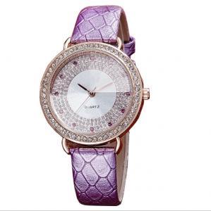 China Luxury Ladies Fashion Watches ,Stainless steel caseback Diamond Bezel and Dials  Women Wrist Watches ,Jewelry watch on sale