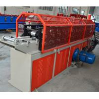 Buy cheap G550 Galvanized Coils Omega Grafting Stud And Track Roll Forming Machine Hydraulic Cutting 4KW from wholesalers