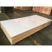 Buy cheap malamine faced mdf /Cheap price Medium Density Fiberboard/MDF/HDF/ laminated board/3mm/5mm titanium white melamined mdf from wholesalers
