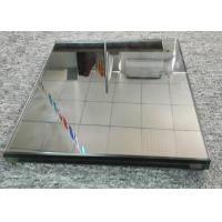 Buy cheap Golden Tempered Reflective Laminated Glass Flat Shape Low Eradiation Fuction from wholesalers