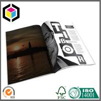 Buy cheap Glossy CMYK Color Magazine Printing Factory; Custom Artwork Magazine/ Brochure from wholesalers