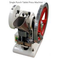 Buy cheap Laboratory Medical Single Punch Tablet Press Machine For Granulated Materials from wholesalers
