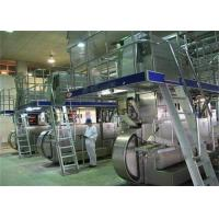 Buy cheap 3000L/H Complete UHT Milk Processing Line For Turn Key Projects from wholesalers