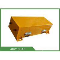Buy cheap Lithium Iron Phosphate 48v 100ah Battery Floor Scrubber Long Life from wholesalers