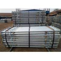 Buy cheap Steel Telescopic Props Scaffolding  Shoring Acrow Prop For Slab Formwork Supporting from wholesalers