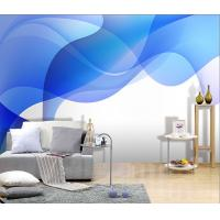 Buy cheap Simple Abstract Style Fabric Wall Art Decals, Interior Decoration Wallpapers JC-025 from wholesalers