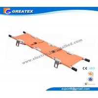 Buy cheap Portable Emergency Medical Stretcher , Aluminum Alloy Rescue Folding Stretcher from wholesalers