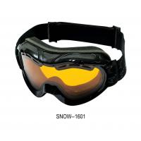 Buy cheap Waterproof Custom Ski Goggles, sport eyewear 100%Uv Anti Fog With Multi Color from wholesalers