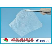 China Cotton Non Woven Gauze Swabs 10 x 10, X-ray Detectable Gauze Swabs on sale