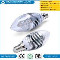 Buy cheap BridgeLux 4W dimmable Led Candle Bulb E14 E27 Led Lamps 80 CRI from wholesalers