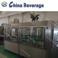 Buy cheap Automatic Soft Drink Glass Bottling Equipment Rotary Glass bottle Carbonated from wholesalers