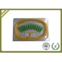 Buy cheap SC Fiber Optic Patch Cord  0.9mm , Waterproof Fiber Optic Pigtail Single Mode product